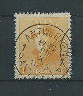 N° 175 OBLITERE ANVERS.CENTRAGE PARFAIT - 1919-1920 Roi Casqué