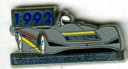 Pin's Voiture Automobile Peugeot 905 Poissy1992 - Peugeot