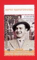 Armenien/Armenie/Armenia 2020, 110th Ann. Of  Sergo Hambardzumyan (1910-1983), Weightlifter, Sport  - MNH - Gewichtheben