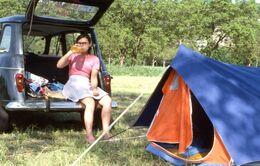"RENAULT 4L - ""en Camping"" 1976 - Diapositives"