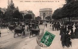 CPA - PARIS - Avenue Du BOIS De BOULOGNE - Edition C.M. - Distrito: 16