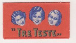 TRE TESTE RAZOR  BLADE - Lames De Rasoir