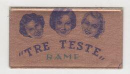TRE TESTE RAME  RAZOR  BLADE - Lames De Rasoir