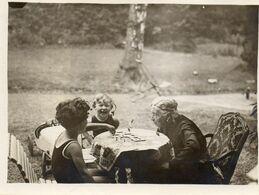 FAMILIE  UIT  LINCE     -  GEMEENTE  SPIMONT   PROVINCIE   LUIK  - 1932   -   12 OP  9  CM - Ohne Zuordnung