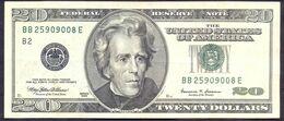 USA 20 Dollars 1999 B  - XF # P- 507 < B2 - New York NY > - Biljetten Van De  Federal Reserve (1928-...)