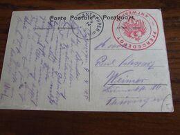 14-18: Carte Vue De BERCHEM (un Peu Abîmée) Oblitérée ANTWERPEN 6 Le 9-IV-1915! (ouvert De Nov. 14 à Avril 15). Cachet - Guerra '14-'18