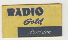 RADIO GOLD  RAZOR  BLADE - Lames De Rasoir