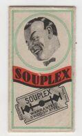 SOUPLEX  RAZOR  BLADE - Lames De Rasoir