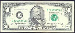 USA 50 Dollars 1993 B  - AUNC # P- 494 < B - New York NY > - Biljetten Van De  Federal Reserve (1928-...)