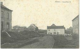 AISEAU : Grand'rue - Cachet De La Poste 1906 - Aiseau-Presles