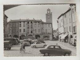 CPSM BAGNOLS SUR CEZE (Gard) - Place De La Mairie - Bagnols-sur-Cèze