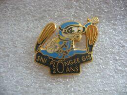 Pin's Des 20 Ans Du Club De Plongée SNI GIS à Guebwiller (Dépt 68). - Buceo