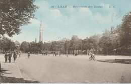 Lille EC 56 Boulevard Des Ecoles Tandem Peu Courant TBE - Lille