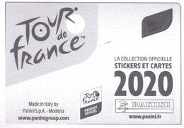 Carte Cyclisme Coureur Cycliste PANINI Tour De France 2020 Au Choix, Me Contacter. Minimum 5 Pièces. - Cycling