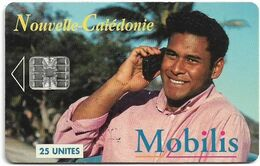 New Caledonia - OPT - Mobilis, SC7, 11.1995, 25Units, 20.000ex, Used - Nouvelle-Calédonie