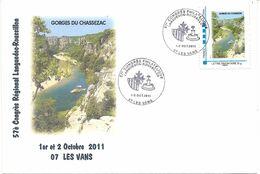 """MTAM """"Gorges Du Chassezac"""" Sur Lettre CT Les Vans 1-2/10/2011 - Frankreich"""