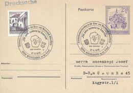 Autriche Carte Postale Entier Postal Oblitéré, Bière, Beer, Bier. Chope - Birre