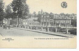 NAMUR- Vue D ' Herbatte Prise De La Chaussée De Louvain. - Namur