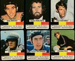 Choisis Les As Du Sport Belge – 12 Cartes – Advertising Clark's Tendermint Chewing Gum - - Cycling