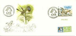 Oiseaux: GORGE BLEUE A MIROIR Sur Carte Maximum L P O 1ER Jour Carcassonne 12/5/2011 - Songbirds & Tree Dwellers