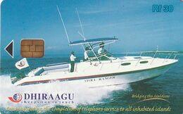 MALDIVES ISL. - Speed Boat, Atoll Ranger, CN : 335MLDGIF, Used - Bateaux