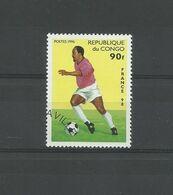 LOT TIMBRES REPUBLIQUE DU CONGO FOOTBALL OBLITERE - Collections
