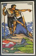 Schweiz, Ganzsache Bundesfeier 1913 - Ungebraucht - Covers & Documents