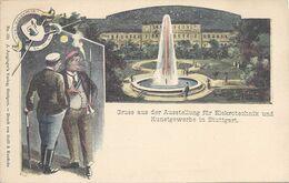 Wurttemberg Carte Postale Entier Postal Neuf, Bière, Beer, Bier. Blason Avec Une Chope De Bière - Beers