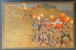 Schweiz, Ganzsache Bundesfeier 1912 - Ungebraucht - Covers & Documents