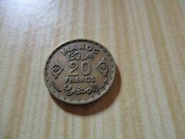 Maroc - 20 Francs Mohammed V 1952.N°651. - Marocco
