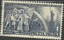 POLAND - UNITED STATES CONSTITUTION; GEORGE WASHINGTON; THOMAS PAINE; KOSCIUSZKU - George Washington