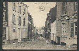 +++ CPA - FOSSE - FOSSES LA VILLE - Rue Du Postil - Début De Guerre  // - Fosses-la-Ville