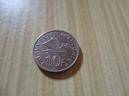 Nouvelle-Calédonie - 10 Francs 1983 .N°654. - New Caledonia