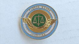 Argentina Argentine Air Force Lawyer Avocat  Badge Insigne #17 - Autres