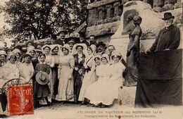 S37-001 Félibrée De Nontron (24 Septembre 1911) - Inauguration Du Monument, Les Discours - Nontron