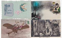 LOT 50 CPA THEMES DIVERS - 5 - 99 Postkaarten