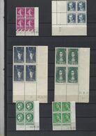 Collection De Coins Datés Neufs Sans Charnière De 1934 à 1964 ( Voir Les 4 Scans)  De 350 Euros De Cote - Collezioni