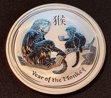 "Australia 1 Dollar 2016  ""Year Of The Monkey"" - Monete"