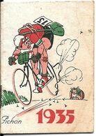 Pt-Calendrier PUB-1935-PUB ECLIPSE CIRAGES/ 17-Ft 4x6 Cm-10 Pages-TBE-RARE - Petit Format : 1941-60
