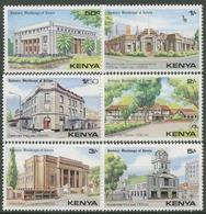 Kenia 1980 Historische Gebäude Bibliothek Hotel 173/76 Postfrisch - Kenya (1963-...)