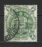 1950 AUSTRALIA 2£ DEFINITIVE MICHEL: 190 USED - Gebraucht