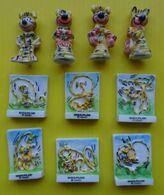 Fève  Disney - Série Complète  -   Mammouth 1995 ( Prime ) - Marsupilami  -  Réf AFF 1995 57 - Cartoons