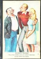 CPA  Illustration Baignade Tragique Nous Allons Nous Marier  Jupe Plissée - Marriages