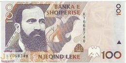 ALBANIA 100 LEKE 1996 PICK 62 UNC - Albania