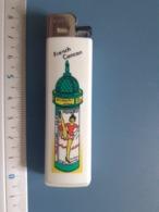 Briquet Publicitaire Usagé  - Feudor - French Cancan - Autres