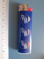 Briquet Publicitaire Usagé  - Cricket - P & M - Autres