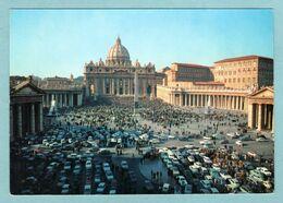 CP Città Del Vaticano - Benedizione Papale In Piazza In S. Pietro  -- Vatican Bénédiction Papale Sur La Place St Pierre - Vatican