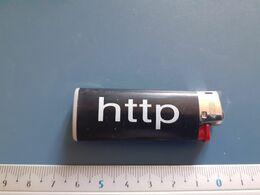 Briquet Publicitaire Usagé  - Bic - Http - Autres