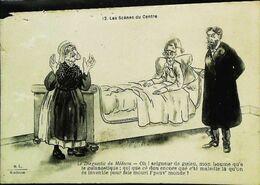 CPA  Illustration  Les Scènes Du Centre Le Diagnostic De Médecin - Marriages