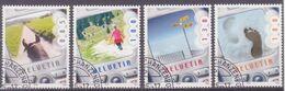 Schweiz: Serie SBK-Nr. 1173/1176 (Suisse-Mobil, 2005) Gestempelt - Used Stamps